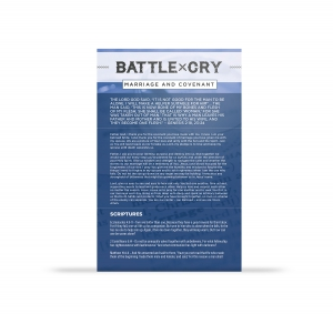 Image of Battle Cry for Marriage & Covenant Card