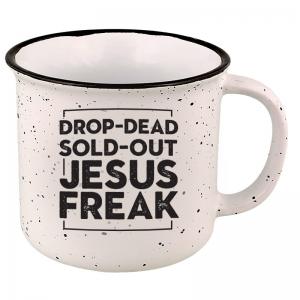 Image of Drop-Dead Sold-Out Jesus Freak Mug