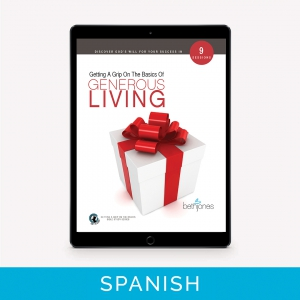 Image of Getting A Grip on the Basics of Generous Living - Spanish Translation