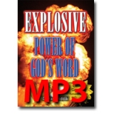 Image of MP3 Explosive Power of God's Word