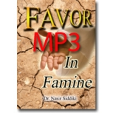 Image of MP3 Favor in Famine