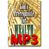 Image of MP3 God's Prerequisite for Wealth