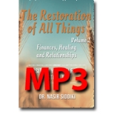 Image of MP3 The Restoration of All Things Vol 2