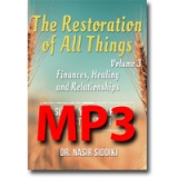 Image of MP3 The Restoration of All Things Vol 3