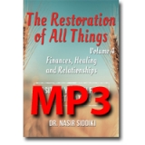 Image of MP3 The Restoration of All Things Vol 4