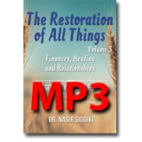 Image of MP3 The Restoration of All Things Vol 5