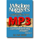 Image of MP3 Wisdom Nuggets Vol 2