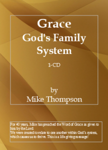 Image of Grace: God's Family System CD