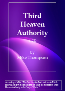 Image of Third Heaven Authority CD