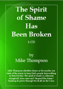 Image of The Spirit of Shame Has Been Broken CD