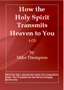 Image of How the Holy Spirit Transmits Heaven to You CD